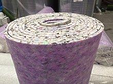 Luxury 12mm Thick PU Carpet Underlay Rolls   11m