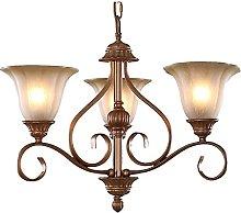 Luxury American Living Room Stair Chandelier Lamps