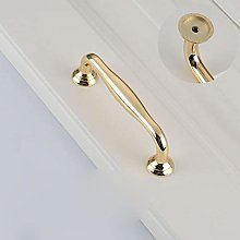 Luxury Bright Gold Knobs and Handles Kitchen