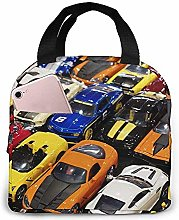 Luxury Cars Lunch Bag Reusable Lunch Box Lunch