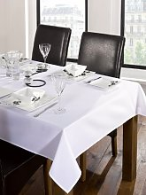 LUXURY CATERING BANQUETING WHITE TABLE CLOTH