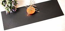 Luxury Charcoal 70cm Long Leatherboard Table
