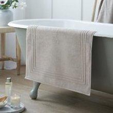 Luxury Egyptian Cotton Bath Mat. The White