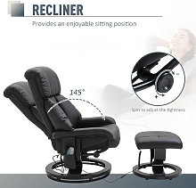Luxury Fuax leather Chair Recliner Electric