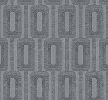 Luxury Geometric Glitter Wallpaper for Living Room