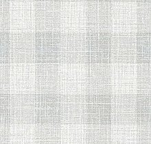 Luxury Glitter Check Tartan Textured Vinyl Light