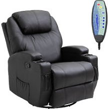 Luxury Leather Recliner Sofa Chair Armchair Cinema