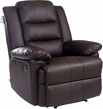 Luxury Life Loxley Leather Recliner Armchair Sofa