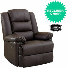 Luxury Life - Loxley Leather Recliner Armchair
