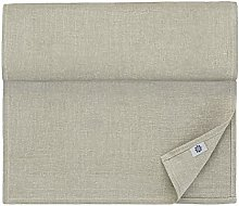 Luxury Linen & Cotton Natural Table Runner