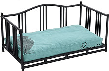 Luxury Metal Iron Frame Dog Cat Cushioned Bed