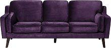 Luxury Modern 3 Seater Sofa Upholstered Soft