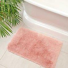 Luxury Plush Pale Pink Non Slip Machine Washable