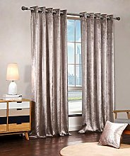 Luxury Velvet Curtains Eyelet Top Fully Lined