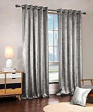 Luxury Velvet Curtains Eyelet Top Fully Lined