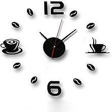 Luxury Wall Decorative Clock Festiday Removable