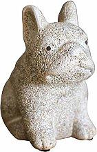 LUYIYI Ceramic Handicrafts, Puppy Decorations,