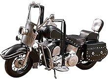 LUYIYI Retro Motorcycle Ornaments, Desk Crafts Of