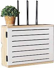 LUYIYI Solid wood WiFi wireless router shelf -