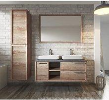 Luz 5 Piece Bathroom Furniture Set with Mirror