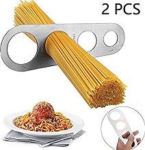 LVEDU 2 PCS Stainless Steel Spaghetti Measure Tool