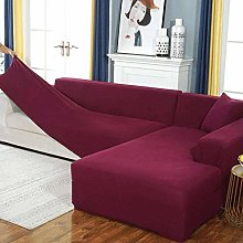 LVLUOKJ Stretch L Shape Sofa Covers, Couch Covers