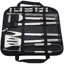 Lwieui BBQ Grill Tools Kit 18pcs BBQ Tools Set