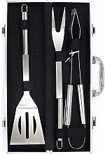 Lwieui BBQ Grill Tools Kit 3pcs BBQ Tools Set With