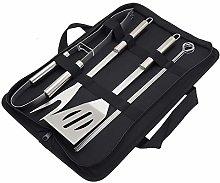 Lwieui BBQ Grill Tools Kit 8pcs Barbecue Tool Set