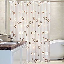 Lwieui Shower Curtain European Style Shower