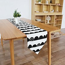 Lwieui Table Runner Multi-Size Cotton Table