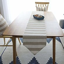 Lwieui Table Runner Simple Washable Dining Table