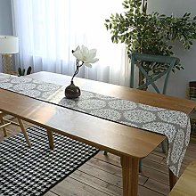 Lwieui Table Runner Vintage Dining Linen Table