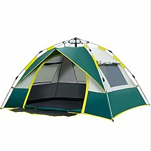 Lwieui Tent Automatic Camping Tent 3-4 Person Easy