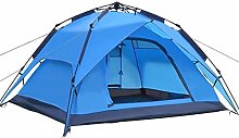 Lwieui Tent Automatic Tent 3-4 Person Camping Tent