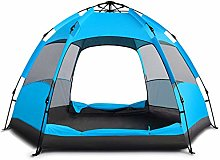 Lwieui Tent Camping Tent Double Layer Tents Family