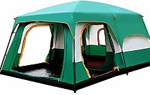 Lwieui Tent Camping Tent Outing Two Bedroom Tent