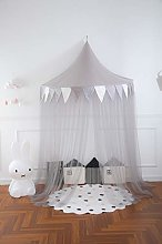 LWKBE Baby Bed Canopy, Crib Canopy Dome Castle,