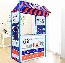 LWKBE Ice Cream/Funny Food Shop Play Tent