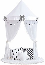 LWKBE Princess Girls Bed Canopy,Crib Canopy Dome