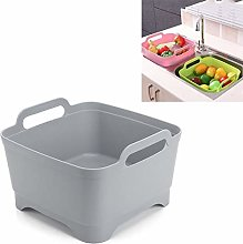 LWLHOUSE 2PCS Multifunctional Mobile Sink Kitchen