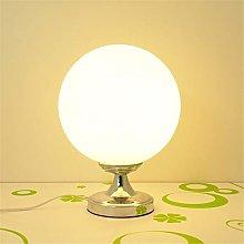 LWW Desk Lamps Modern Creative Milk Ball Table