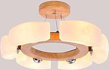LWW Pendant Lights,Indoor Light Solid Wood