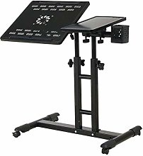 LWW Tables,Desk Portable Laptop Stand Desk Cart