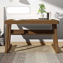 LWW Tables,Desk Solid Wood Computer Desk Desk