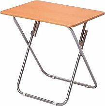 LWW Tables,Folding Snack Dinner Desk with Wood Top