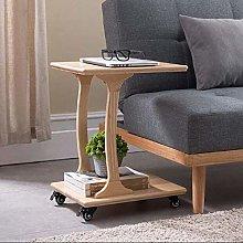 LWW Tables,Sofa Side Wheel Mobile Computer Desk