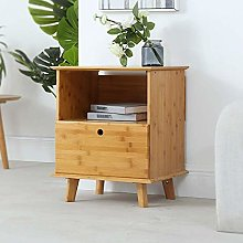 LXD Bookcases,Solid Wood Bedside Cabinet Simple
