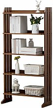 LXD Bookcases,Solid Wood Student Bookshelf Modern