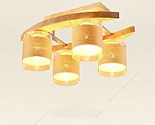 LXD Ceiling Lights,Nordic Solid Wood Creative
